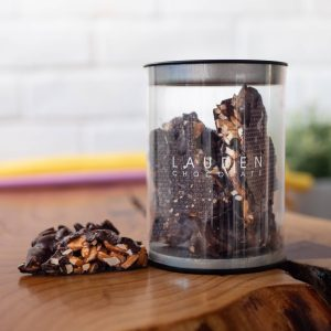 Lauden - Caramelised Almonds in Dark Chocolate 120g tub