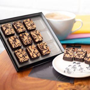 Lauden - Mediterranean Orange Chocolates box of 12