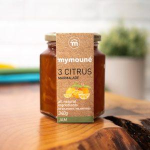 Mymoune - Three Citrus Marmalade 340g jar