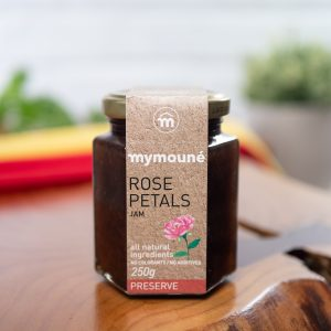 Mymoune - Rose Petals Jam 250g jar