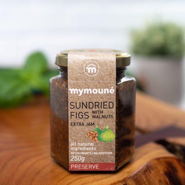Mymoune - Sundried Fig Jam With Walnuts 250g jar