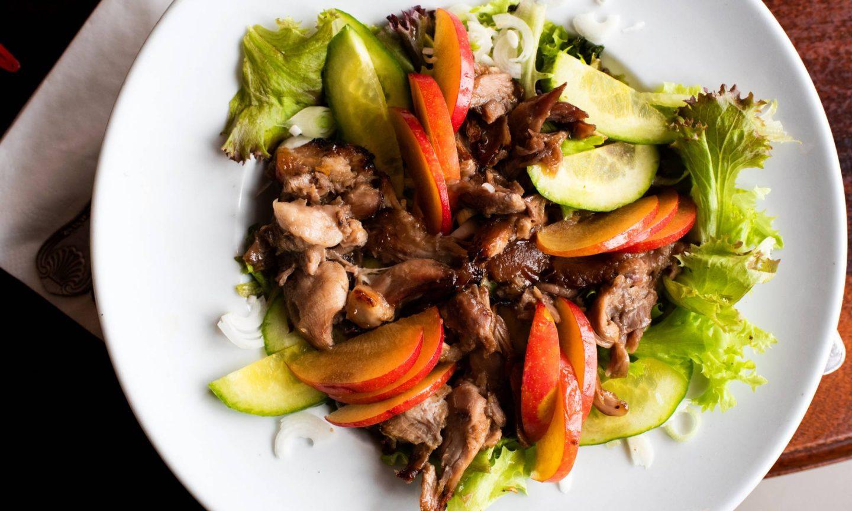 Warm Duck Confit Salad Recipe